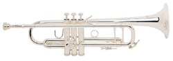 RS Berkeley Silver Plated Trumpet