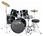 Percussion Plus 5 Piece Drum Set