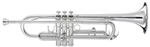 RS BERKELEY Bb SILVER PLATED TRUMPET