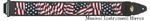 LM Products padded designer American Flag Guitar strap