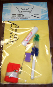CLARINET MUSICAL INSTRUMENT CARE KIT