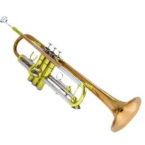 Tri-Color Student Trumpet by Eldon