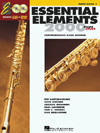 Essential Elements Flute Book 1 +CD & DVD