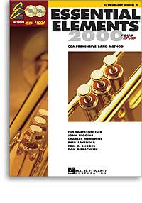 Essential Elements Trumpet Book 1 +CD & DVD