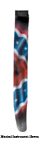 LM PRODUCTS REBEL FLAG GUITAR STRAP