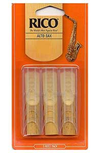 Rico Tenor Saxophone Reeds - 3 Pack